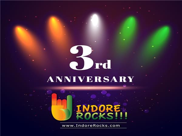3rd Anniversary of Indore Rocks !!! website